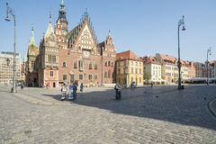 Rynek wroclaw poland europe Stock Images
