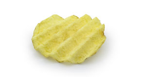 Rynka-snitt potatischiper Arkivfoton