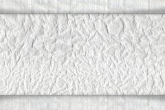 rynkad paper textur Royaltyfri Fotografi