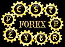 Rynki walutowi Obraz Stock