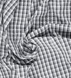 Rynkigt kvadrerat torkduketyg Royaltyfri Fotografi