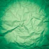 Rynkigt papper som används som bakgrund royaltyfria foton