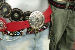 rynkowa pasów ubrania mody street Zdjęcie Royalty Free