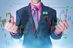 Rynku walutowego handlu mistrz Fotografia Stock