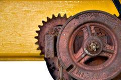 Rynnowi gearwheel ruchy Obrazy Stock