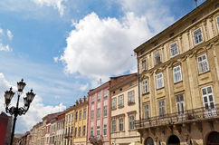 Rynok Square in Lviv Stock Image