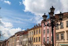 Rynok Square in Lviv Royalty Free Stock Photo
