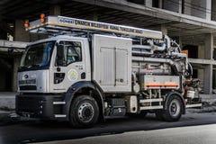 Rynsztokowa Cleaning ciężarówka Obraz Stock