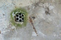 Rynsztokowe dziury zdjęcie royalty free