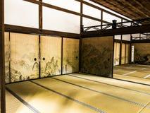 Ryoan-ji temple hall Royalty Free Stock Photos