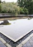Ryoan-ji temple, Kyoto, Japan. Rock garden (also called a Zen Garden) at the Ryoan-ji temple in Kyoto, Japan Stock Photos