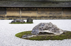 Ryoan-ji temple in Kyoto, Japan. Stock Images