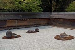 Ryoan Temple, Kyoto, Japan Stock Photography