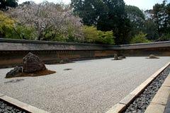 Ryoan Temple, Kyoto, Japan Stock Photo