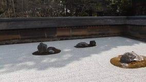 Ryoan Temple, Kyoto, Japan stock footage