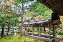 Ryoanji寺庙在京都,日本 免版税库存照片
