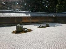 Ryoanji-Tempel, Kyoto, Japan Stockbild