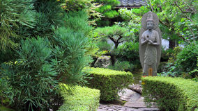 Ryoanji Temple garden in Kyoto Stock Images