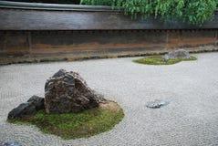 Ryoanji Temple Rock Garden Royalty Free Stock Photos