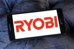 Ryobi firmy logo obrazy stock