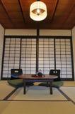 Ryokan living room Stock Photography