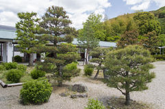 Ryozen Kannon garden. Ryozen Kannon park is a memorial to soldiers who died in World War 2 Royalty Free Stock Photos
