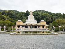 Ryozen Kannon memorial. Ryozen Kannon large statue of goddess, memorial to soldiers who died in World War 2 Stock Image