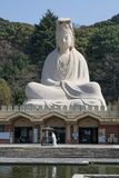 Ryozen Kannon Statue, the Goddess of Mercy. stock image