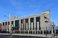 Rysk ambassad i Ottawa fotografering för bildbyråer