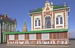 Rysk arkitektur och traditioner Yoshkar-Ola Ryssland royaltyfri foto