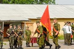 Rysk armé Arkivfoto