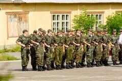 Rysk armé Fotografering för Bildbyråer