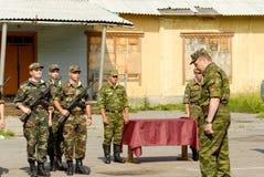 Rysk armé Arkivbild