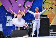 Rysk balett Arkivfoto