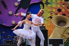 Rysk balett Royaltyfria Foton