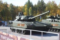 Rysk behållare för huvudsaklig strid T-14 Armata Royaltyfria Foton