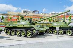 Rysk behållare T-62 Royaltyfria Bilder