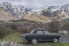 Rysk bil Volga Fotografering för Bildbyråer
