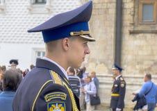 Rysk cadet. Royaltyfri Fotografi