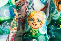 Rysk docka Royaltyfria Bilder