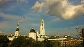 Rysk domkyrka, sergievposad, religion, kyrka arkivfilmer