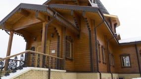Rysk federation, Belgorod region, Belgorod, Korochanskaya St, Serafim Sarovsky Temple royaltyfria foton