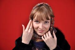 Rysk flicka Arkivbilder