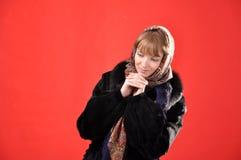 Rysk flicka Arkivbild
