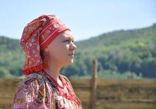 Rysk flicka Arkivfoton