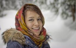Rysk flicka Royaltyfria Foton