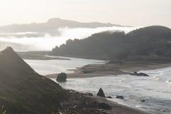 Rysk flod för Sonoma kust arkivfoton