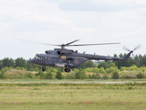 Rysk helikopter MI-8 Arkivfoton