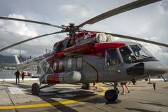 Rysk helikopter Mi-8AMT royaltyfria foton
