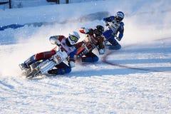 Rysk isspeedwaymästerskap Fotografering för Bildbyråer